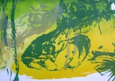 Mirroring-Two-Screen-print-Karen-Stansfield